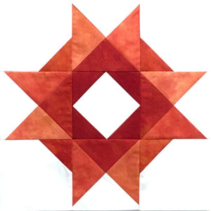 Deep Orange - Hand Dyed Fabric Precuts