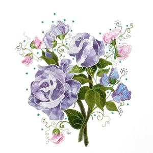 Sterling Roses - Applique Pattern