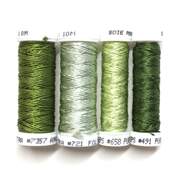 Sterling Roses - Leaf Thread Collection