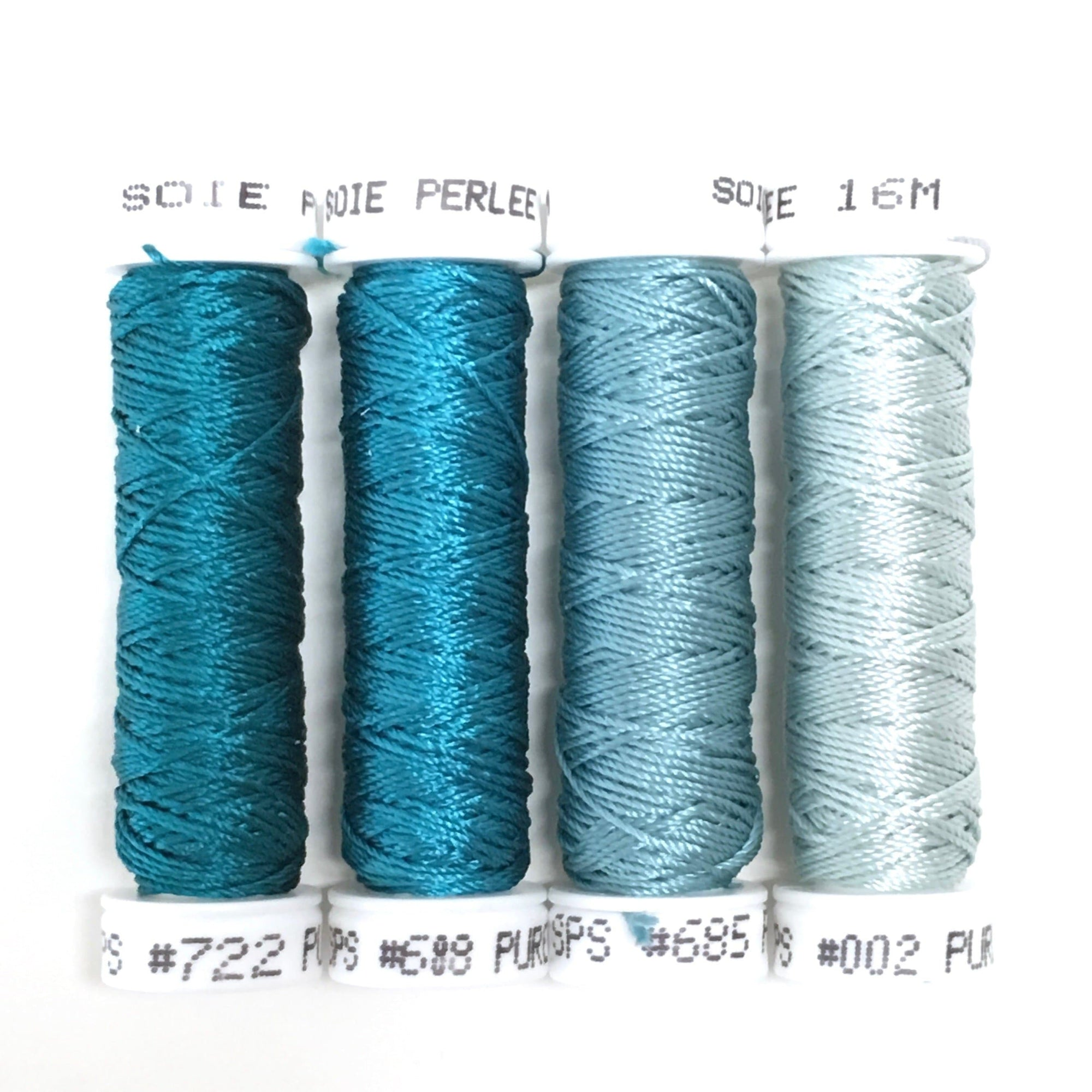 Turquoise Collection - Soie Perlee