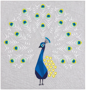 The Peacock Abstractions Quilt Pattern