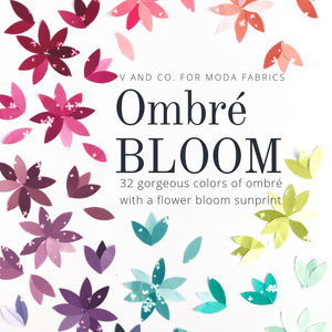 Ombre Bloom - Dessert Roll