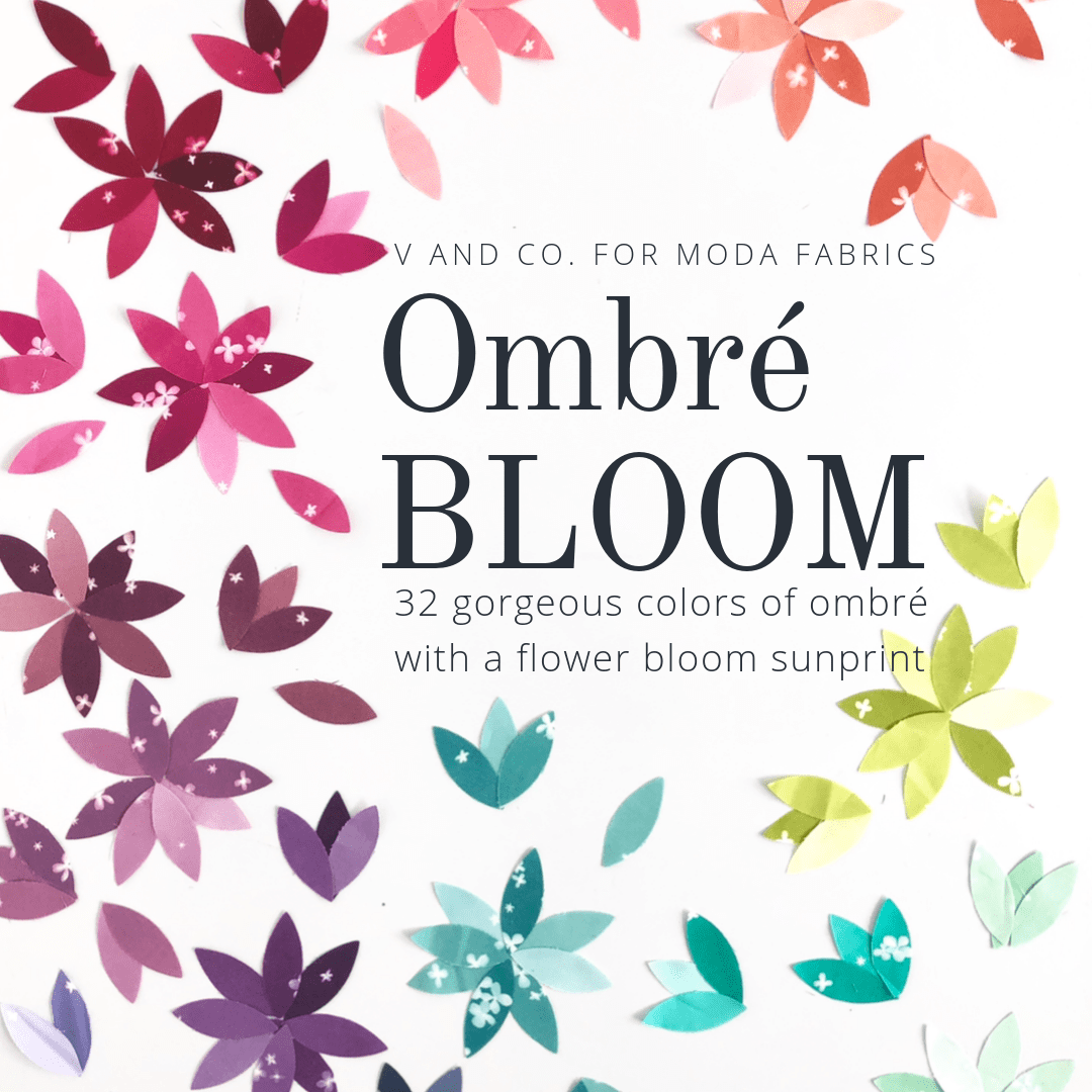 Ombre Bloom - Fat Quarter Bundle