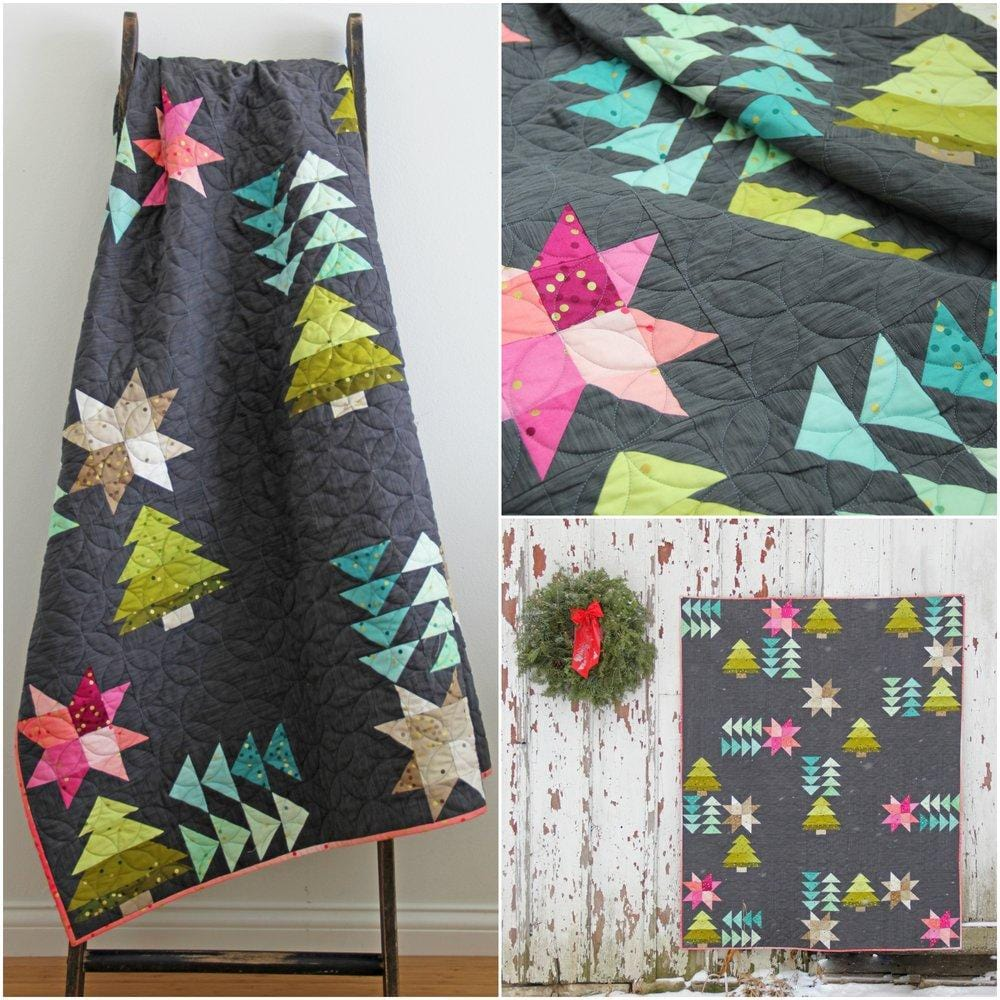 Home for the Holidays - Ombre Quilt Pattern
