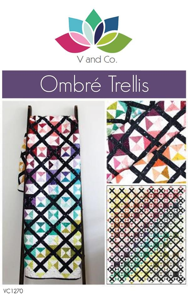 Ombre Trellis by V and Co.
