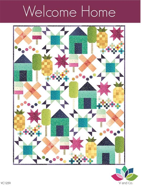 Welcome Home - Ombre Quilt Pattern