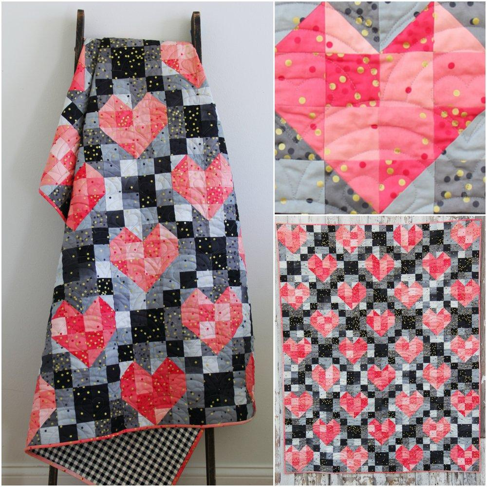 Heart Strings - Ombre Quilt Pattern