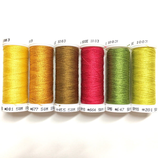 Yellow Sunflower - Soie 100/3 Thread Collection