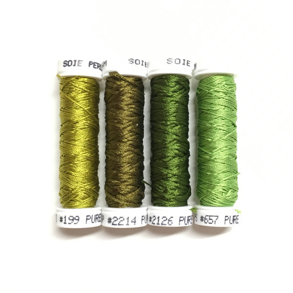 Yellow Sunflower - Leaf Thread Collection