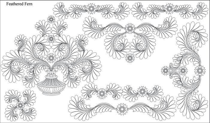 Feathered Fern Design Pack