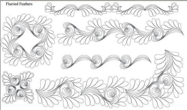 Flurried Feathers Design Pack