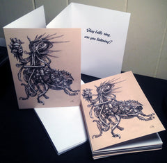 Monster Holiday Cards - Belled Kreep - Pack of 12