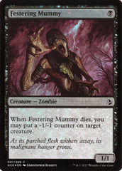 Festering Mummy FOIL Artist Proof - Magic the Gathering - Amonkhet