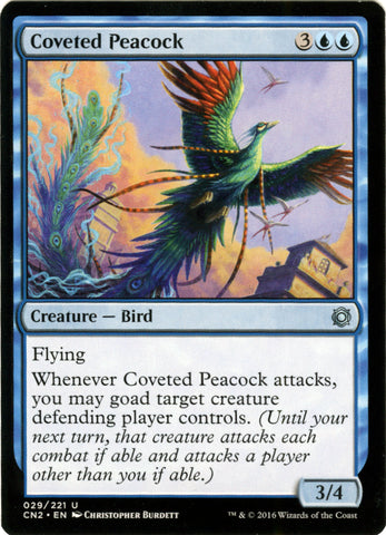 Coveted Peacock Artist Proof - Magic the Gathering - Conspiracy 2: Take the Crown