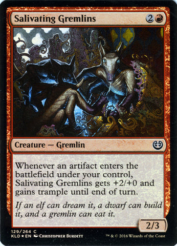 Salivating Gremlins FOIL Artist Proof - Magic the Gathering - Kaladesh