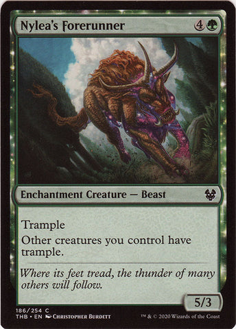 Nylea's Forerunner FOIL Artist Proof - Magic: the Gathering - Theros Beyond Death
