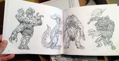 creatura libri 3 - Sketchbook