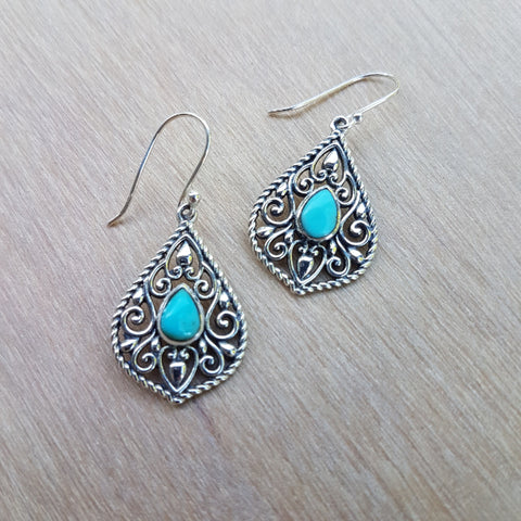 Turquoise Edwina Earrings