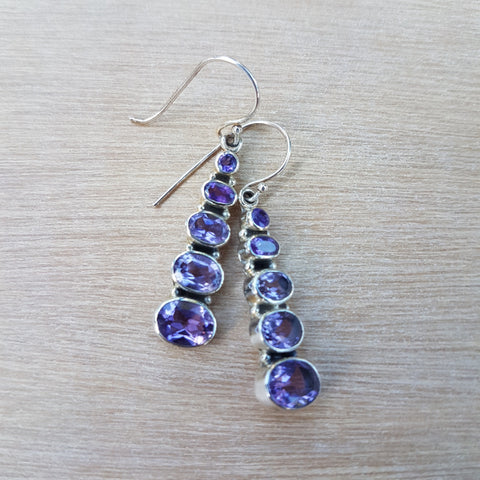 Amethyst Bella Earrings