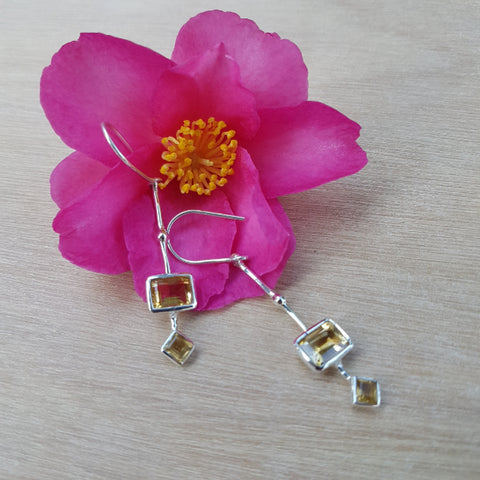 Citrine Modernista Earrings