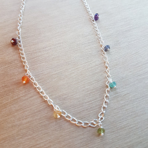 Chakra Beaded Necklace