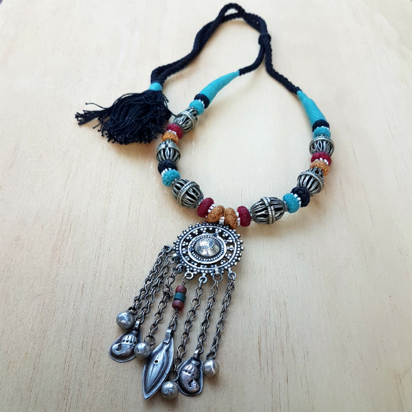 Big Boho Vintage Necklace
