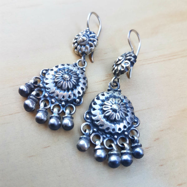 Boho Bell Earrings - Inspired Tribe Silver Jewellery