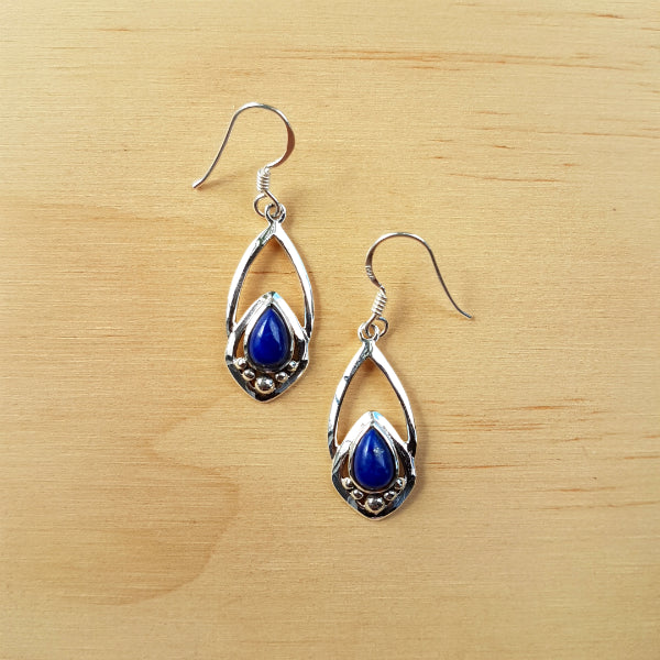 Lapis Lazuli Yasmeen Earrings