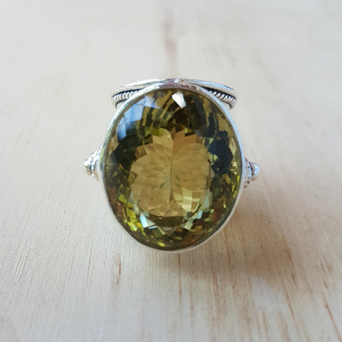 Lemon Quartz Nafisa Ring