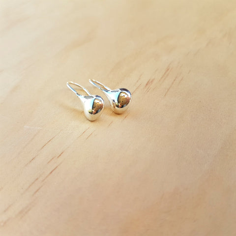 Baby Silver Drop Earrings