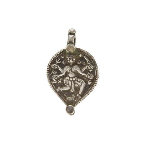Vintage Kali Pendant - Inspired Tribe Silver Jewellery