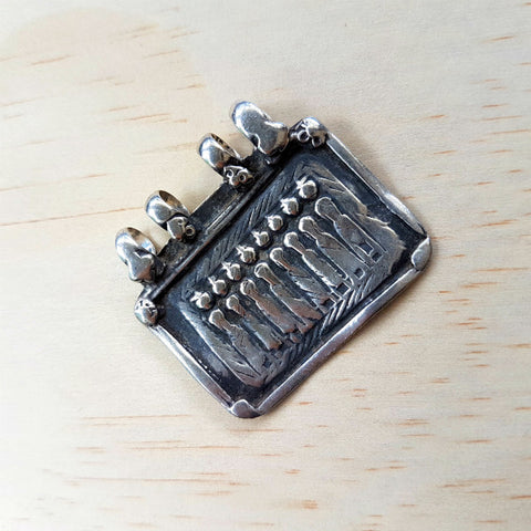 Vintage 7 Sisters, 1 Brother Amulet - Inspired Tribe Silver Jewellery