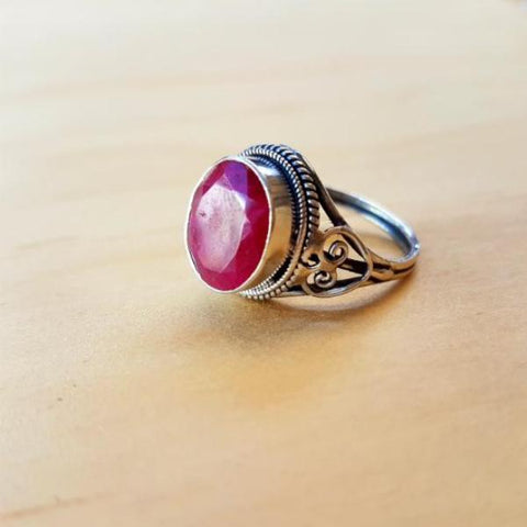 Classic Ethnic Ruby Ring