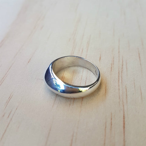 Solid Sterling Silver Band