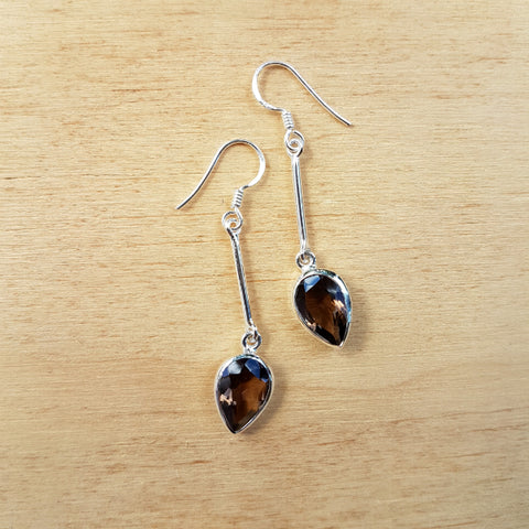 Smoky Quartz Sabita Earrings