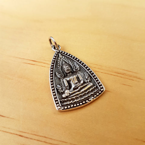 Buddhist Unalome Pendant - Inspired Tribe Silver Jewellery