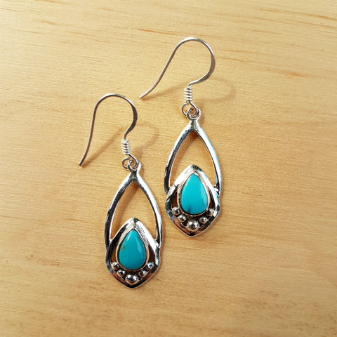 Turquoise Yasmeen Earrings