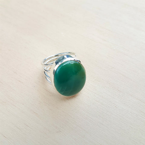 Turquoise 4 Shank Ring