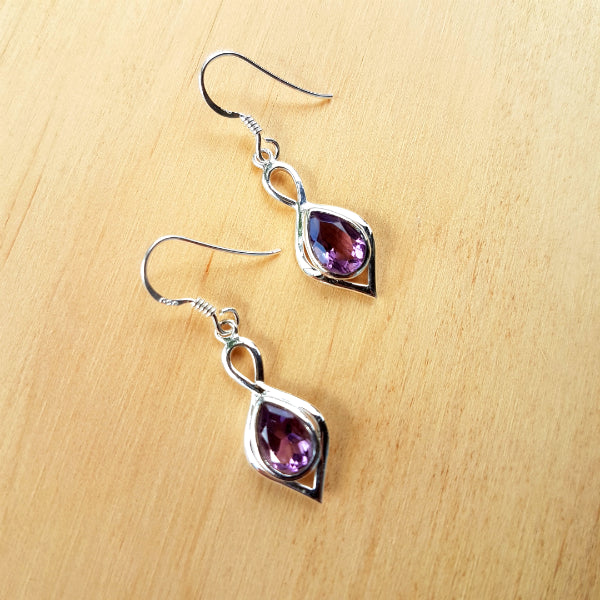 Amethyst Padmini Earrings