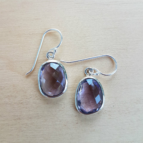 Amethyst Polki Earrings