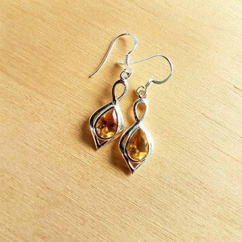 Citrine Padmini Earrings