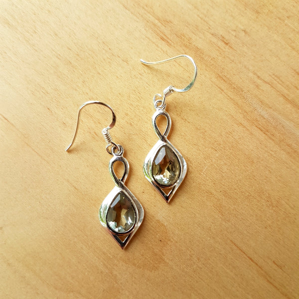 Lemon Quartz Padmini Earrings