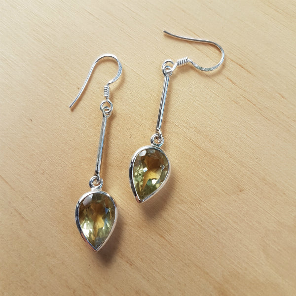Lemon Quartz Sabita Earrings