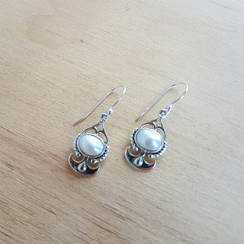 Pearl Artisan Earrings