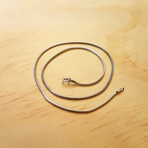 Sterling Silver Snake Chain 1.5mm - Inspired Tribe Silver Jewellery