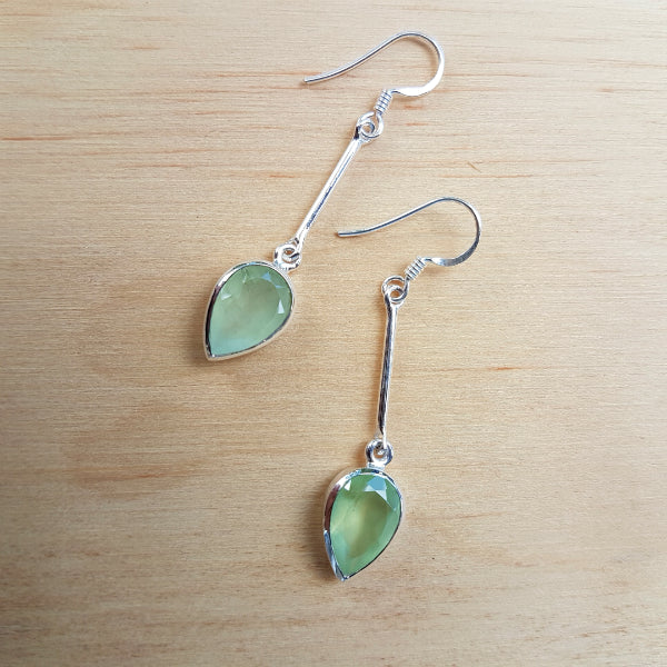Prehnite Sabita Earrings
