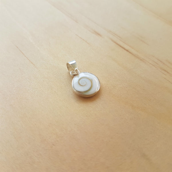 Silver Mini Shiva Eye Pendant
