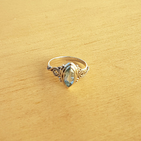 Blue Topaz Miri Ring