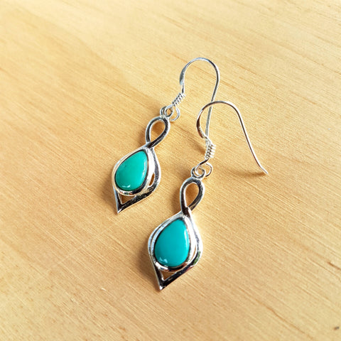 Turquoise Padmini Earrings