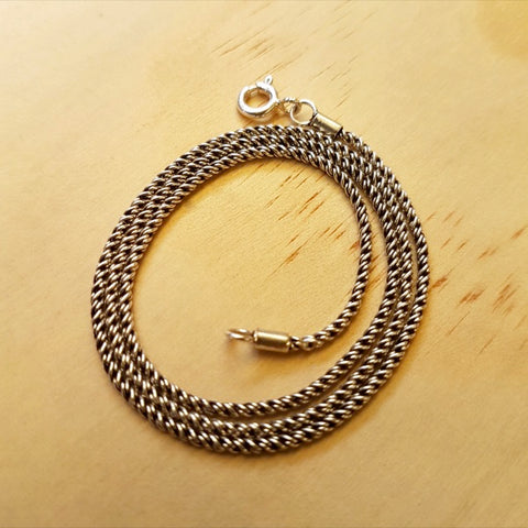 Braided Rope Chain 1.5mm